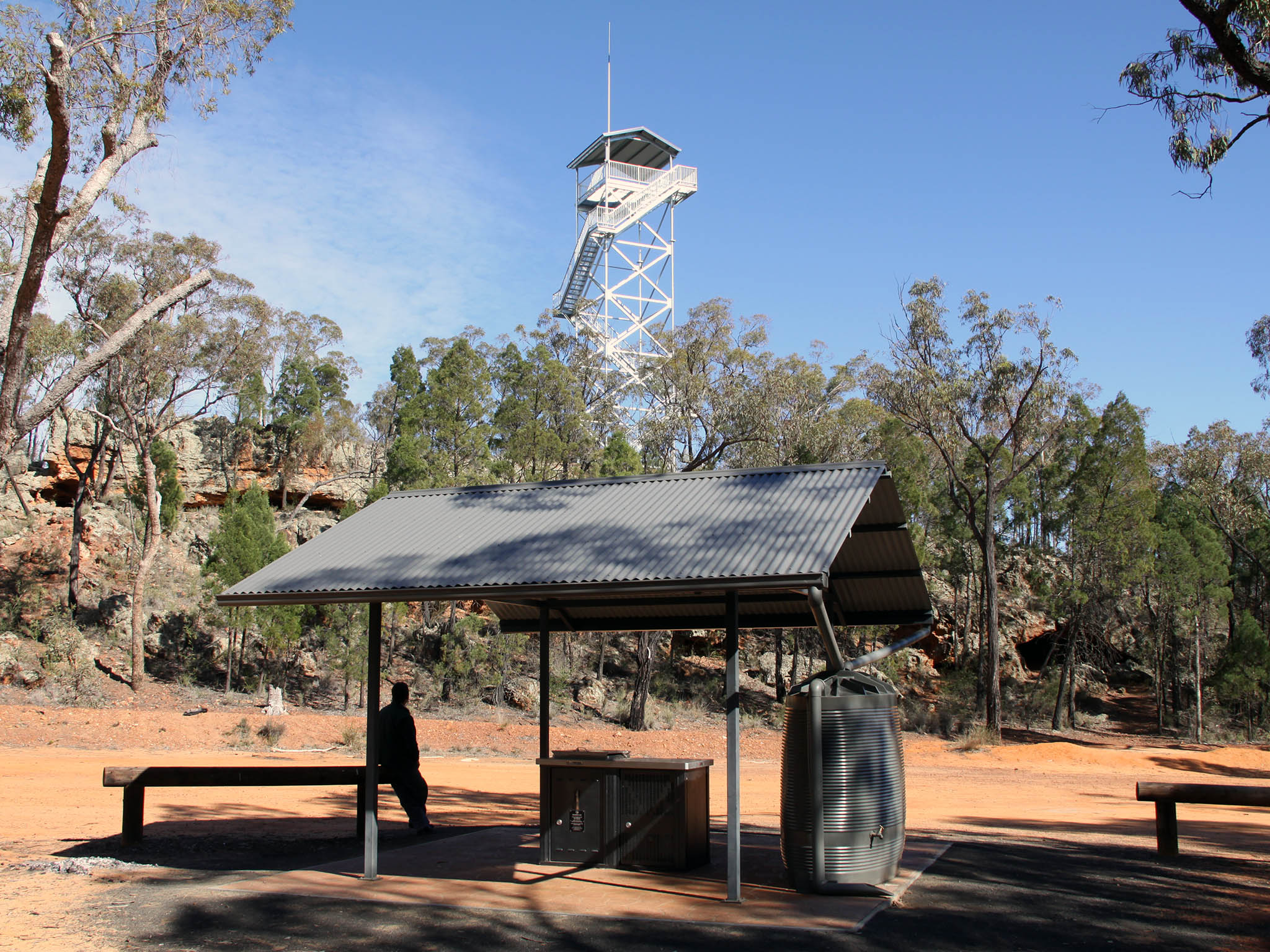 Salt Caves Visitor Area & Lookout Tower